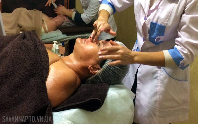 Массаж лица antiage на курсах косметолога