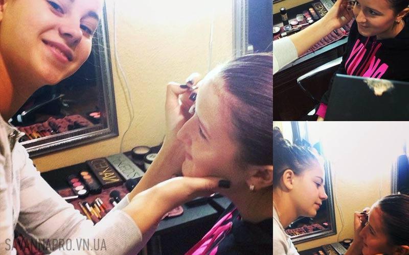 Курсы макияжа - учебный процесс