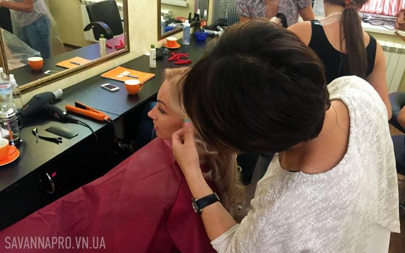 Обучение по окраске волос