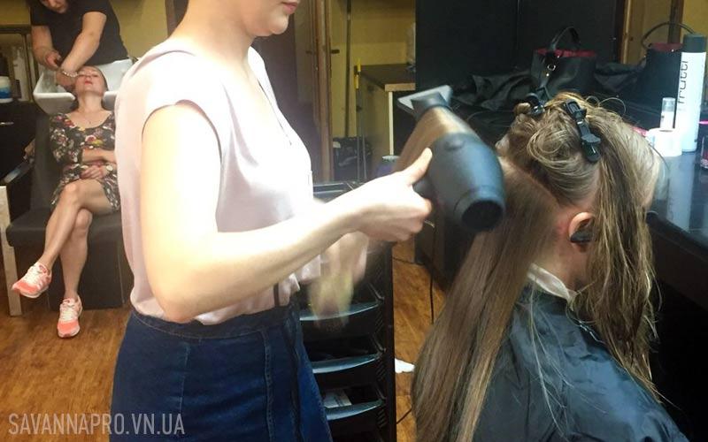 Тема мытья и сушки волос