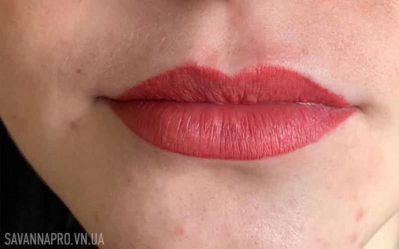 Фото с курса татуажа губ